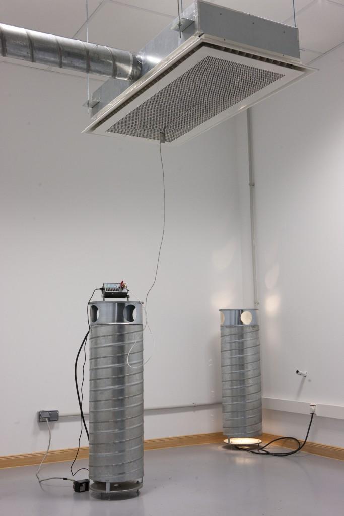 Koolair laboratorio sala aire agua